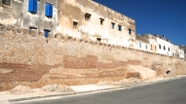 Renovation of town walls