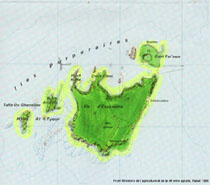 The Island of Mogador topographic