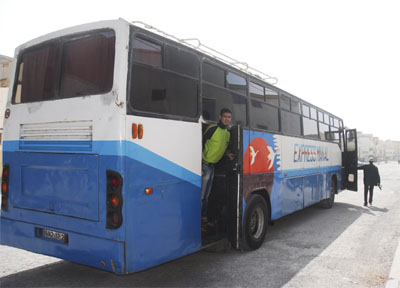 Bus to Safi