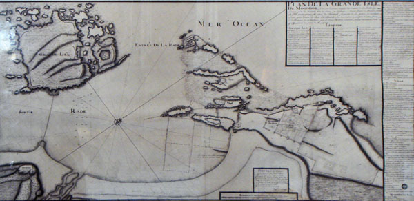 Map of Nogador by Teheodore Cornut 1767
