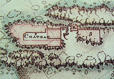 Castelo Real in the plan of Cornut 1767