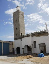 The new mosque at Frina
