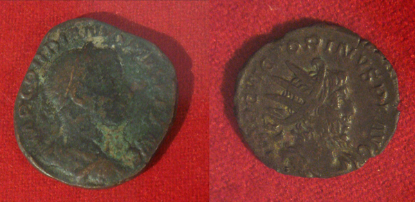 Roman coins excavated in Mogador