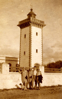 Old pictureof the tower