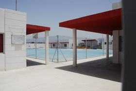 The Sport complex in Bouhaira