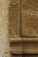 Detail of Portal in sandstone