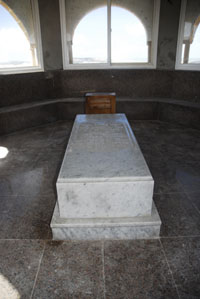 The grave of Chaim Pinto