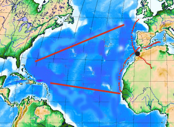 The triangular trade