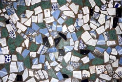 zellij detail of mosaic i